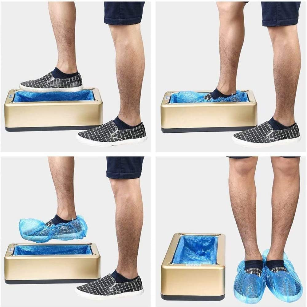 for Overshoes m/énagers de Laboratoire m/édical MYLW Machine Automatique de Film de Chaussures Machine de Couvre-Chaussures avec Membrane De Chaussure