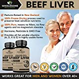 Grass Fed Desiccated Beef Liver Capsules