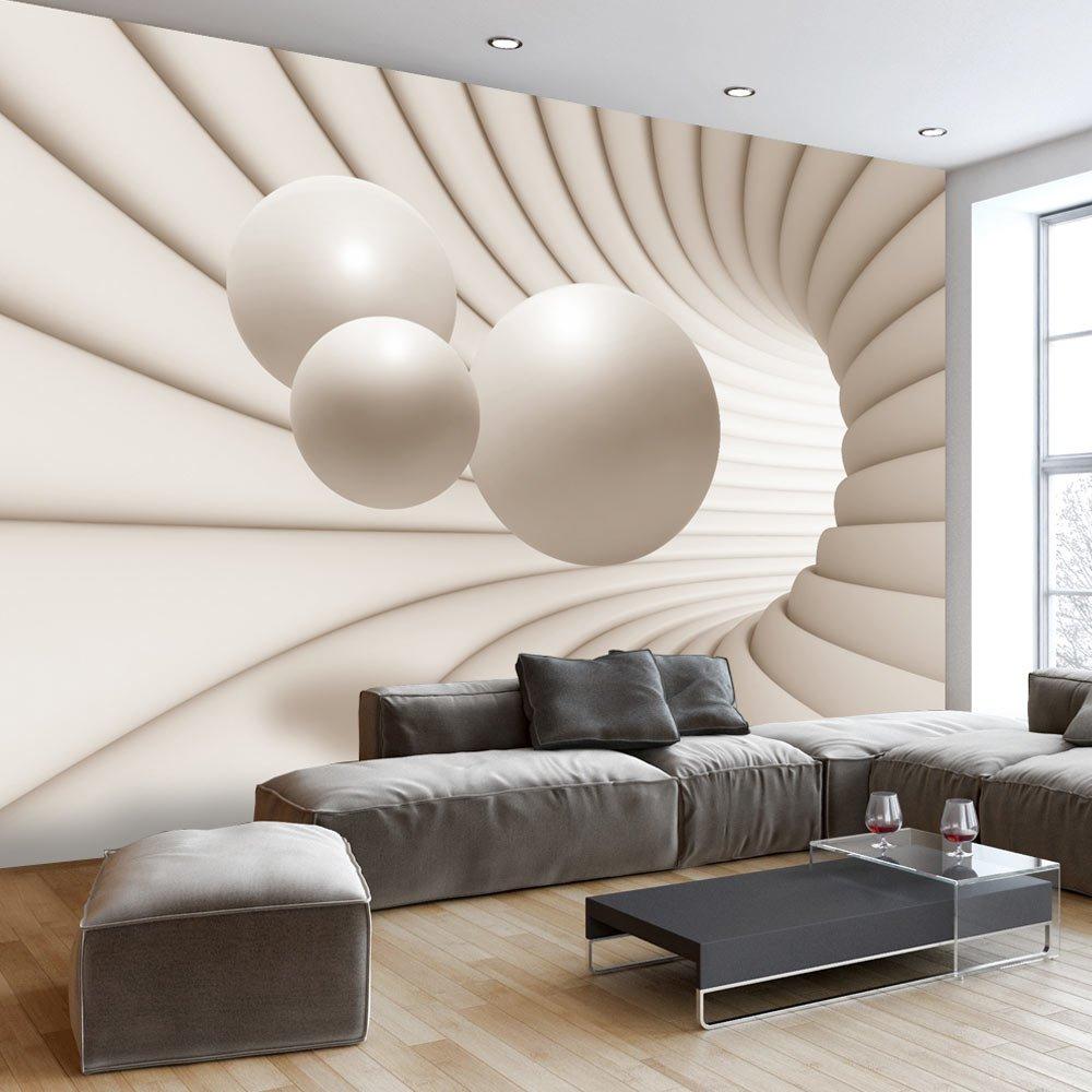 Murando   Fototapete 400x280 Cm   Vlies Tapete   Moderne Wanddeko   Design  Tapete   Wandtapete   Wand Dekoration   Kugel Abstrakt 3D A A 0154 A B: ...