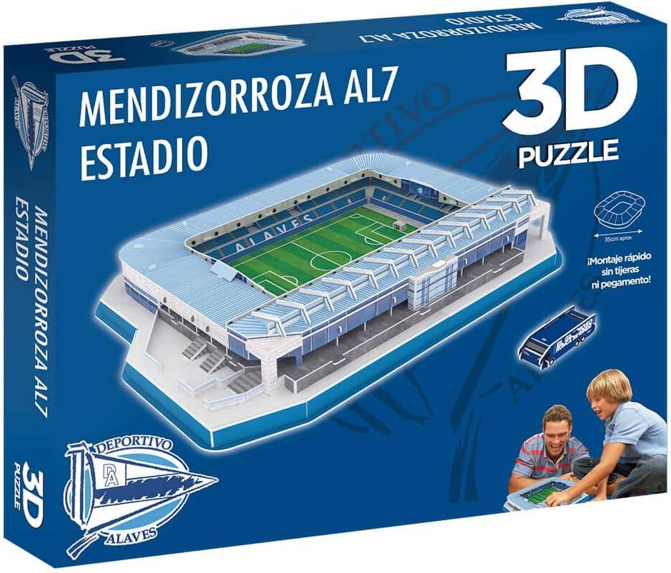 Eleven Force Puzzle 3D Estadio de Mendizorroza (Producto Oficial Deportivo Alavés) (98 Piezas Aprox.): Amazon.es: Juguetes y juegos