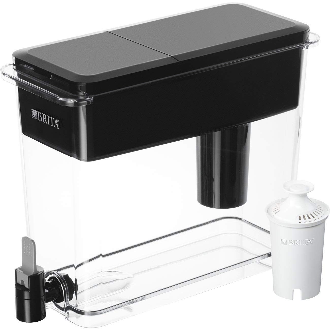 Amazon.com: Brita Extra Large 18 Cup UltraMax Water Dispenser and ...