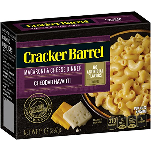 Cracker Barrel Sharp Cheddar Havarti Mac & Cheese (14 oz - Side Dishes Macaroni