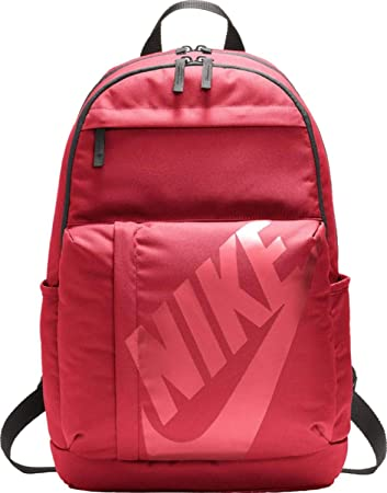 3f8de844eb83a Nike Elemental Backpack Rucksack Noble Red Black Bordeaux One Size ...