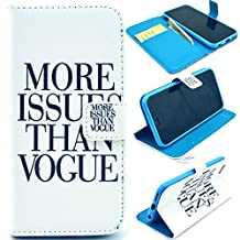 Buddycover Flip Leather Case for Apple iPhone 6 Plus 5.5 inch Wallet Book Style Cover Stand Holder Phone Bag(A-More)