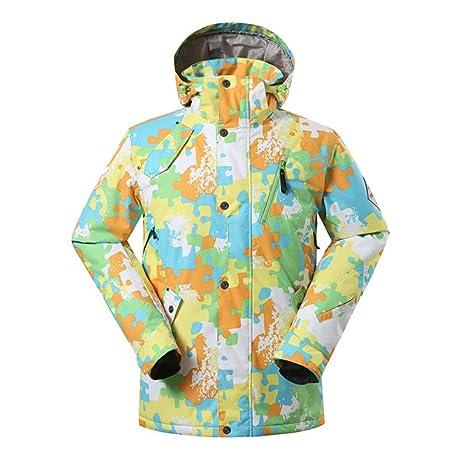 KD Moda Invierno Traje de esquí frío Calor Deportes Chaqueta de ...
