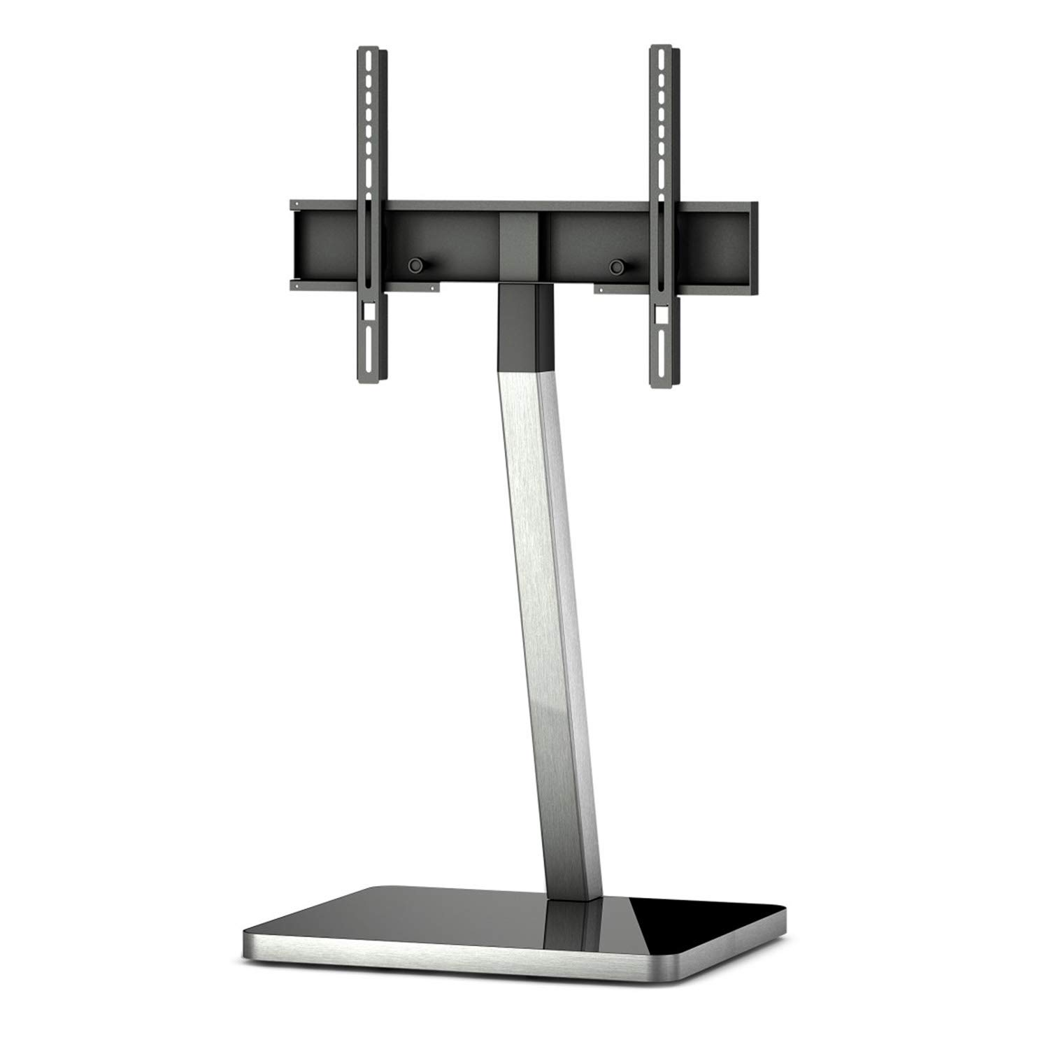 SONOROUS PL-2700 Modern TV Floor Stand with Mount/Bracket for Sizes up to 65'' (Aluminum Construction)
