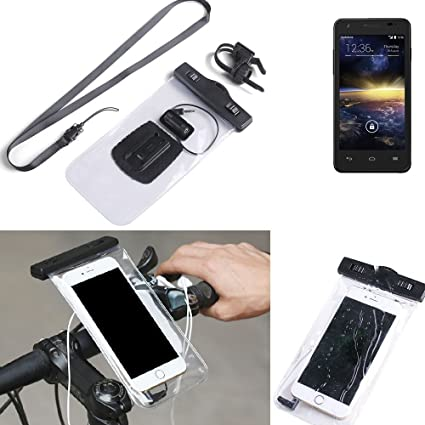 K-S-Trade for Vodafone Smart 4 turbo Bicycle Bracket Mobile Phone Holder Handlebar Bike Bicycle