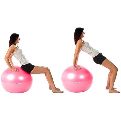 Trainings-Übungen auf dem Gymnastikball