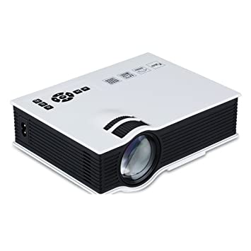 UNIC UC40 - Mini proyector portatil LED Home Cinema (800 lumenes ...