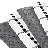 """Royal Kitchen Towels, 12 Pack - 100% Soft Cotton -15"""" x 25"""" - Dobby Weave -Great for Cooking in Kitchen and Household Cleaning (12-Pack Cotton)"""
