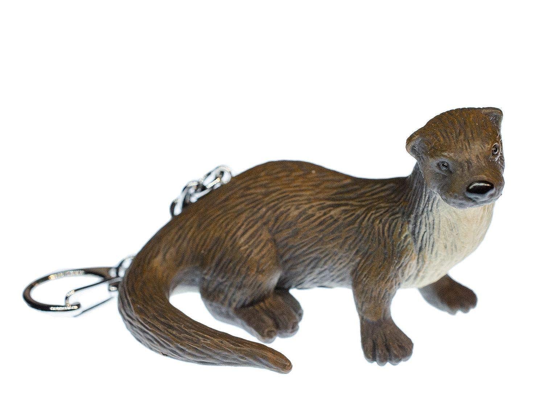 Miniblings Otter Schlüsselanhänger Seeotter Fischotter Gummi ...
