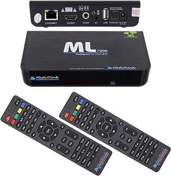 Smart TV de Medialink, Smart Home ML 7000, receptor de IPTV, con HDMI, USB, Full HD, incluye cable HDMI: Amazon.es: Electrónica