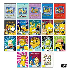amazoncom the simpsons complete series collection
