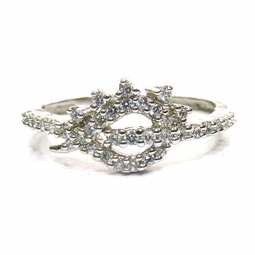 38e7c5dd3186 jewelshingar joyas chapado en anillo American Diamante para mujeres (23082- ring)
