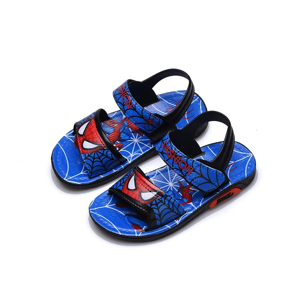 ANKIDS Kids Toddler Boys Marvel Spiderman Sandals Beach Shoes