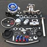 97 honda civic turbo kit - For Honda D-Series High Performance 13pcs T04E Turbo Upgrade Installation Kit