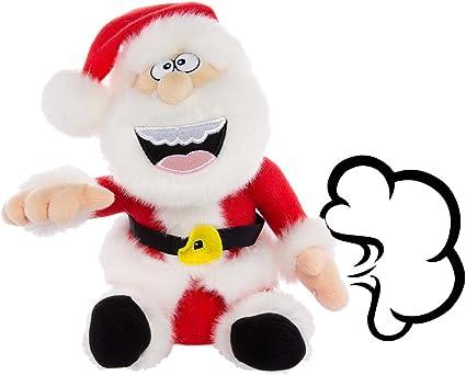 Simply Genius Santa Claus Farting Animated Plush Toys Christmas Stuffed Animals Animated Christmas Decorations