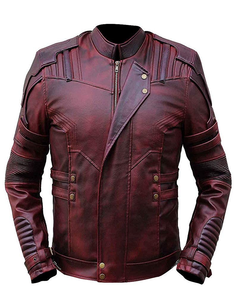 Guardians The Galaxy Vol 2 Movie Star Lord Leather Jacket