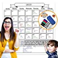 Laminated Jumbo Organizing Calendar by OfficeThink