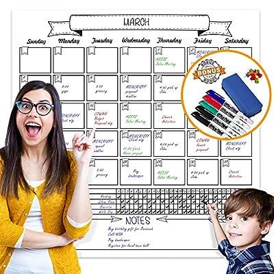 Laminated Jumbo Organizing Calendar by OfficeThink