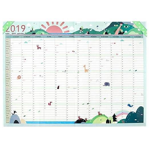 Calendarios de Pared Calendarios de Escritorio 365 días Programa ...