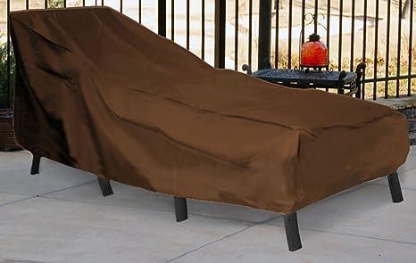 Amazon Com Patio Armor Chaise Lounge Cover Garden Outdoor