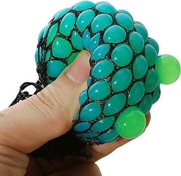 bingole 2 piezas al azar de malla Squishy pelotas antiestrés UVA ...