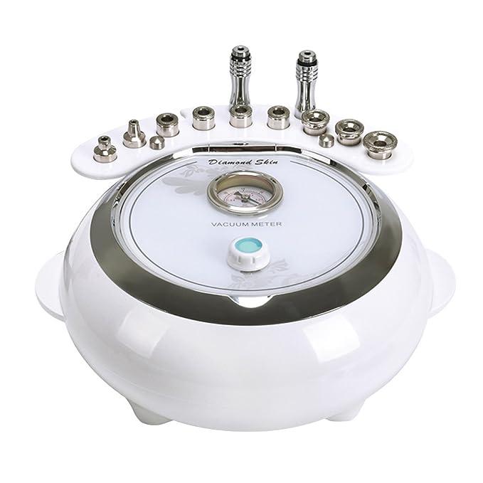 HUKOER 3 en 1 Máquina de Dermoabrasión Diamante Microdermabrasión Dispositivo de Belleza Vacío y Spray Cuidado de la Piel: Amazon.es: Belleza