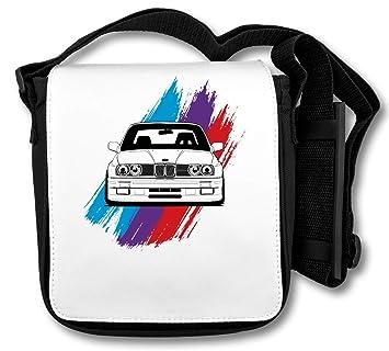 Bmw E30 M Power Bluer Purple Red Schultertasche Amazonde Koffer