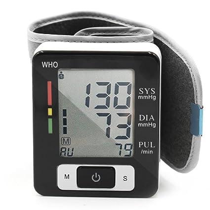 Tensiómetro de Muñeca de Alta Exactitud, 2 * 90 Memorias, Posible para 2 Usuarios