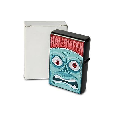 Briquet Tempete A Essence Rarement Imprimé Halloween