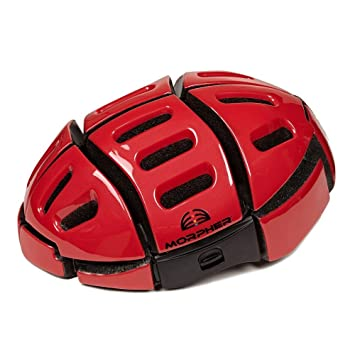Morpher Plegable casco 52cm-58 cm Regal rojo