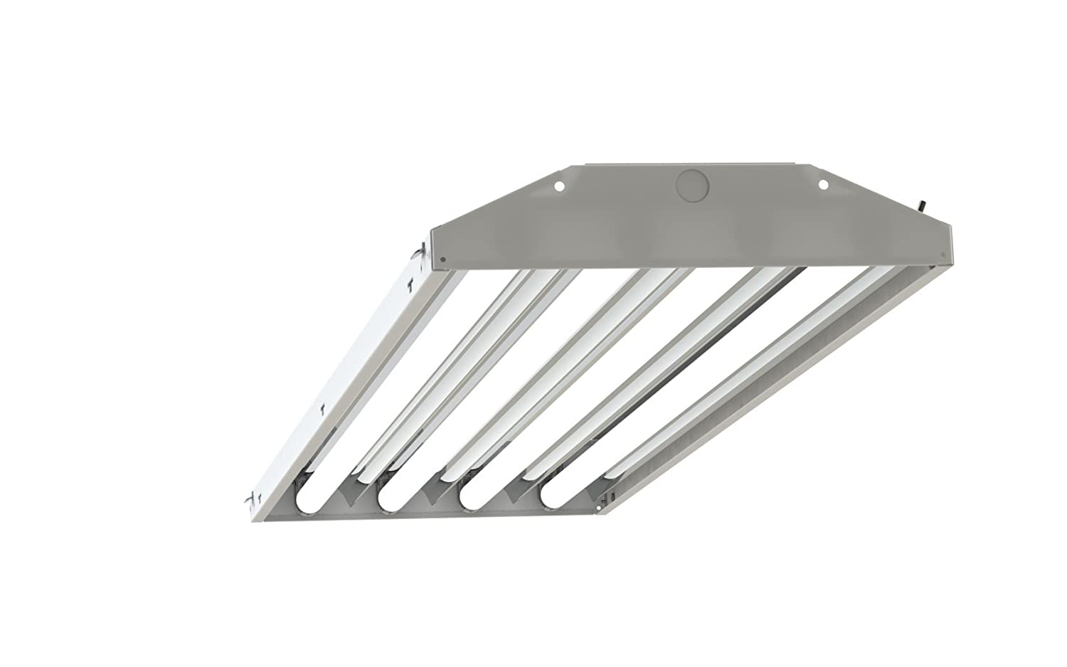 4 lamp t5 ho high bay fluorescent lighting fixture high output t5ho 4 lamp t5 ho high bay fluorescent lighting fixture high output t5ho 120 277v w lamps and wire guard amazon arubaitofo Gallery