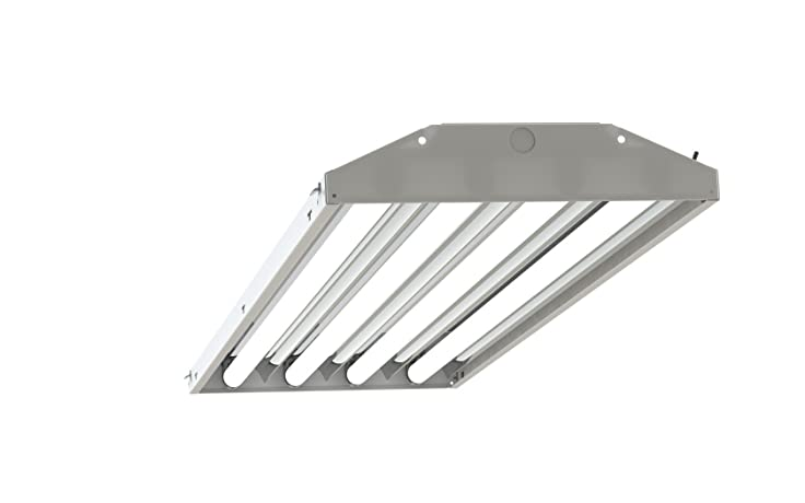 4 Lamp T5 Ho High Bay Fluorescent Lighting Fixture Output T5ho 120