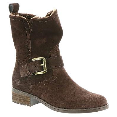 243414a17132e Easy Spirit Women's Reach Ankle Boot, Coffee Bean18, Size 6.0