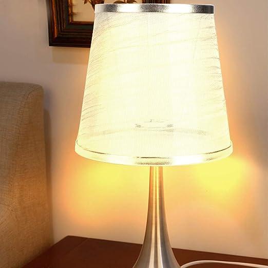 hong Pantalla de lámpara, reemplazo de Pantalla de lámpara de Tela para lámpara de Pared, lámpara de Mesa de Noche, luz de Piso, Lino Natural/Hecho a Mano, 5.9x5.5x4.3 Pulgadas: Amazon.es: Hogar