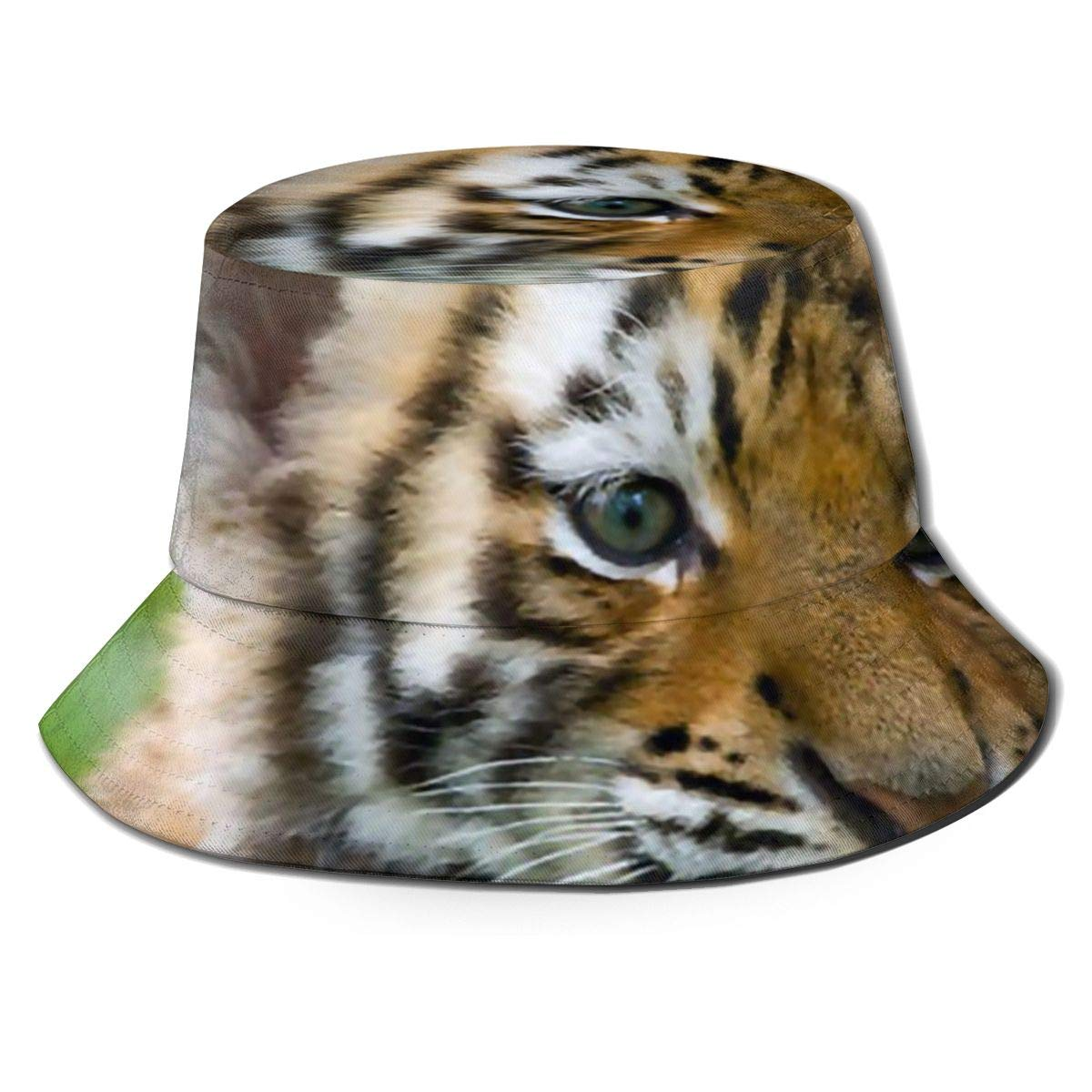 Mens and Womens 100/% Polyester Tiger Baby Mesh Hat Stretch Snapback Hat for Unisex