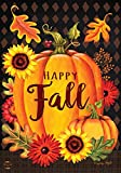 Briarwood Lane Happy Fall Pumpkin House Flag Autumn Leaves Sunflower 28'' x 40''