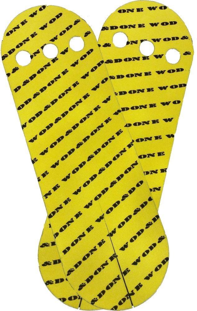 Wod y hecho mano personalizadas protección Athletic Grips para crossfit gimnasia WOD&DONE