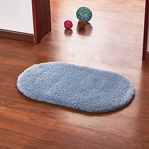 Adaptor Steam Trap (Copter shop Super Magic Slip-Resistant Pad Soft Room Oval Carpet Floor Tapis Salon Mats 40*60CM)