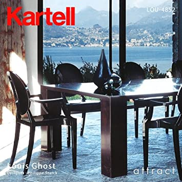 amazon kartell カルテル louis ghost ルイ ゴースト チェア 椅子 lou
