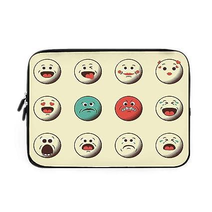 Amazon com: Emoji Laptop Sleeve Bag,Neoprene Sleeve Case
