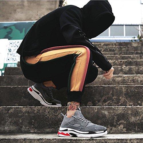 Sneaker Turnschuhe Freizeit Version Laufschuhe Herrenschuhe xiaolin Grau Koreanische FZrw5FBq