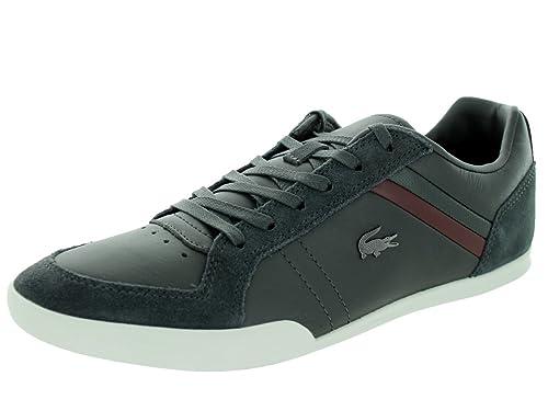 0e2d59cb2d2ab Lacoste Men s Figuera 3 SRM Dk Casual Shoe 10 Grey