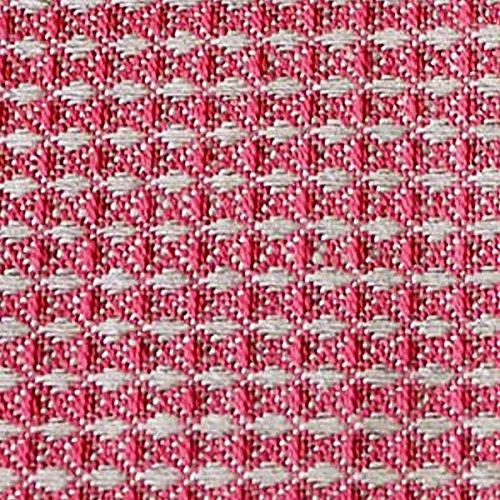 Armani International, Organic Linen Cotton Honeycomb Waffle Unisex Spa Bathrobe Slippers Set Small Coral-Natural