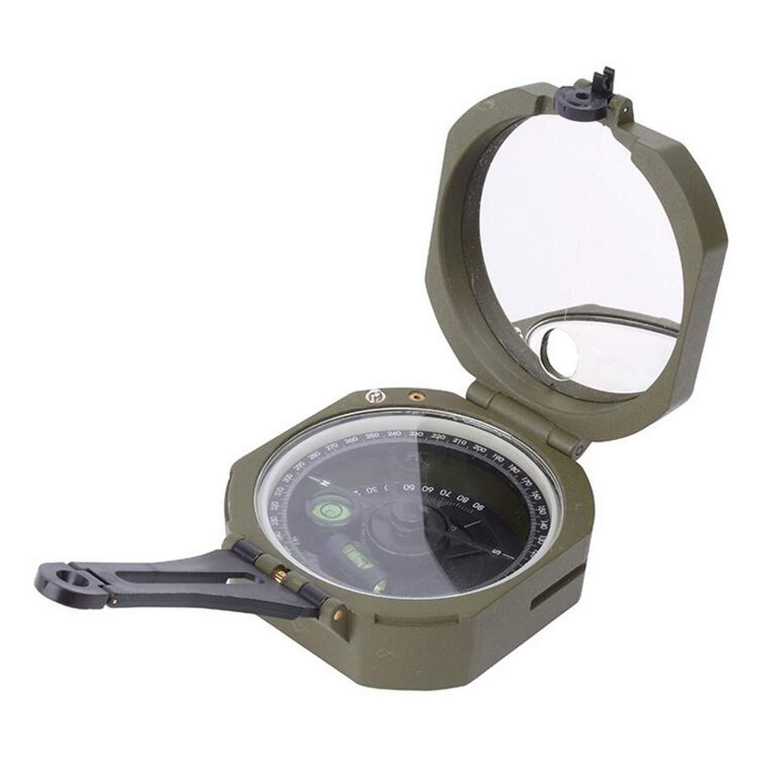NUO-Z professionelle Vintage - kompass mit fluoreszierenden Skala gesichtet, wasserdicht und ideal zum Wandern oder Klettern Biken Shakeproof