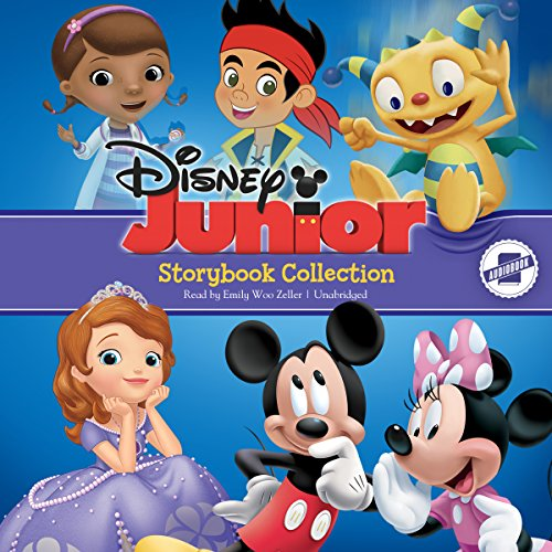 Disney Junior Storybook Collection: Sofia the First, Doc McStuffins, Jake and the Neverland Pirates, Mickey/Minnie, Henry Hugglemonster ()