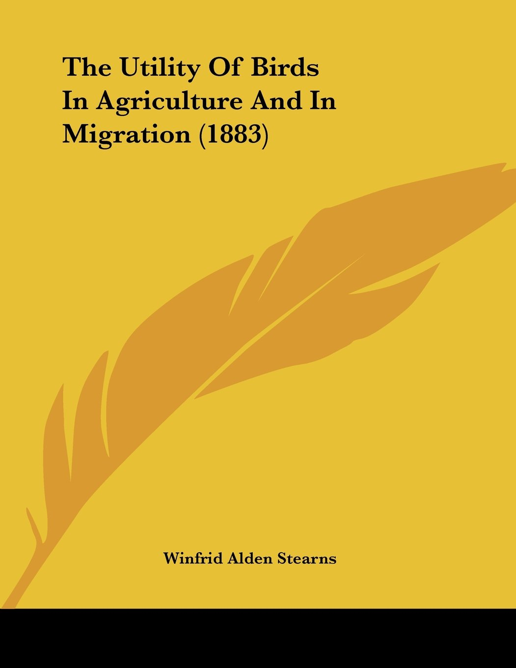 The Utility Of Birds In Agriculture And In Migration (1883) pdf