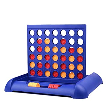 Connect 4 In A Row Hasbro Line Board Game For Kids Children Puzzle