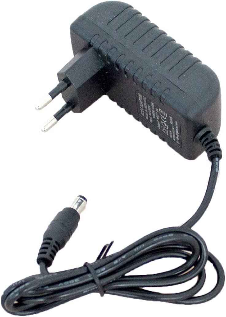 Setik - Fuente de alimentación 5V 2A DC Jack 2,1mm para teléfonos PoE VoIP y cámara IP/CCTV - ALIM2A5VDC